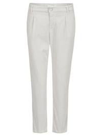Hose 'Chino Cropped Pleat' in Cord-Look