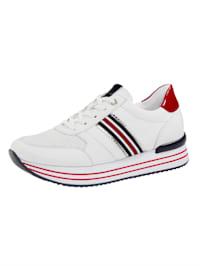 Sneakers med luftig ovansida