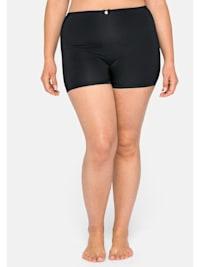 High-Waist-Panty mit kurzem Bein