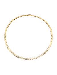 Kultainen timanttikaulakoru