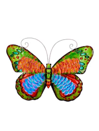 Metall-Wanddekoration 'Schmetterling'