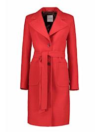 Mantel aus hochwertiger Wolle