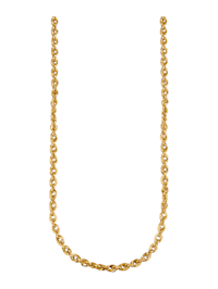 Chaîne maille cordon en or jaune 585