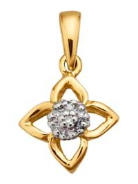 Pendentif avec diamants