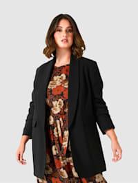 Sako s pekným šálovým golierom