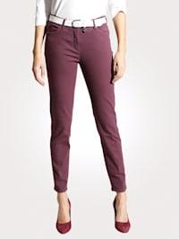Jeans van coloured denim