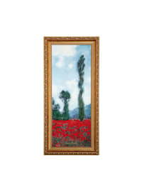 Wandbild Claude Monet - Mohnfeld II