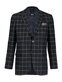 Veste de costume en laine mérinos chaude