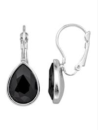 Boucles d'oreilles à pierres de verre