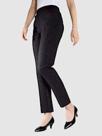 Pantalon imprimé raffiné