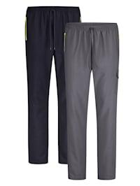 Sportovní kalhoty ve 2-balení