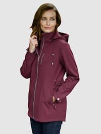 Softshell bunda s fleecovou vnitřní stranou