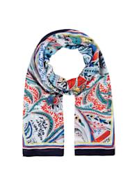 Paisley-Schal aus nachhaltiger LENZING™ ECOVERO™ Viskose