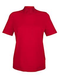 Pullover dekoriertem Stehkragen