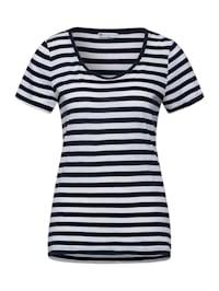 Basic-Shirt mit Streifen