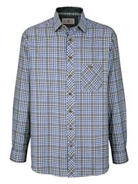 Košeľa s praktickým náprsným vreckom
