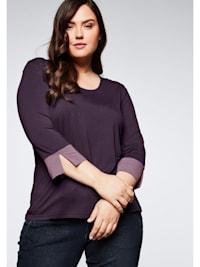 Sheego Jerseyshirt in leichter A-Linie