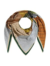 Logo-Tuch aus Viskose