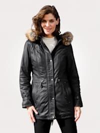 Kožená bunda zo 100% jahňacej nappa kože