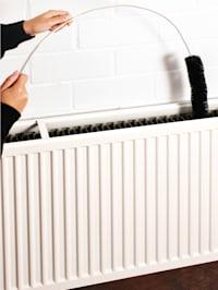 Buigzame radiatorborstel