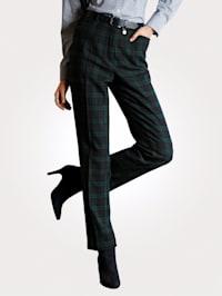 Hose aus Blackwatch-Webkaro