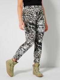 Legging met animalprint