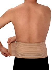Stödbälte för mage och rygg