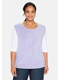 Shirt in Pullunder-Optik, mit Frondruck