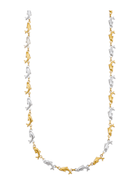 Collier dauphin en or jaune 585