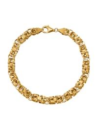 Bracelet maille royale en or 375