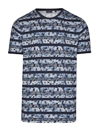 T-Shirt mit floralem Allover-Druck