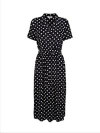 Kleid im hübschen Tupfen-Dessin