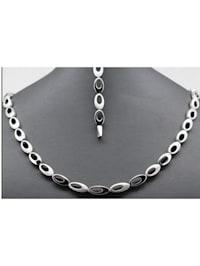Damen Schmuck Halskette aus 925 Silber