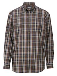 Košeľa so zapínaním na gombíkovú légu
