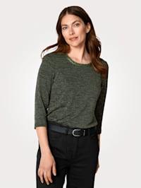 Tričko v jemne pletenom vzhľade