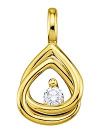 Hanger met diamant