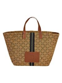 XL-Shopper im exklusiven Logo-Design aus Canvas