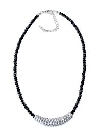 Kurze Kette Michelle mit funkelnden Perlen