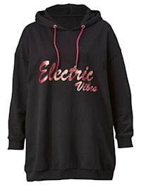 Sweatshirt met trendy print