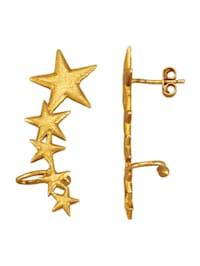Boucles d'oreilles Étoiles en argent 925