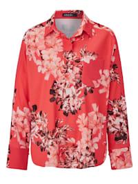 Bluse mit floralem Print