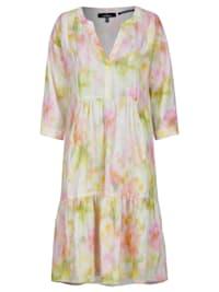 Sommerliches Kleid aus Leinen