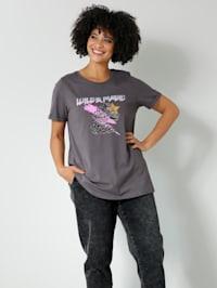 Shirt met print in animalstijl