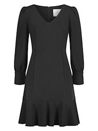 Zeitloses A-Linien-Kleid mit Manschettenärmeln - BELLANO