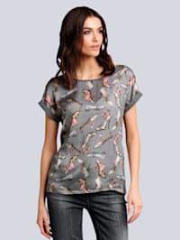 Shirt met opvallend Italiaans dessin