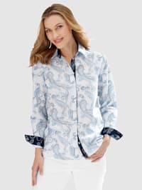 Set van 2 blouses met modieus paisleydessin