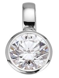 Valkokultainen timanttiriipus