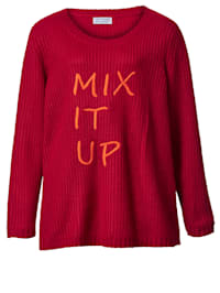 Pull-over avec broderies