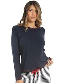 Damen T-Shirt Langarm Sea Spirit