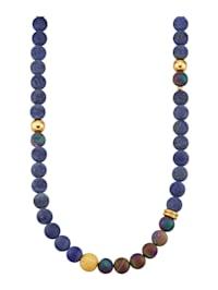 Halskette mit Lapislazuli (beh.)